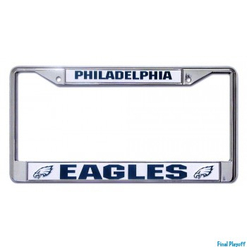 Philadelphia Eagles license plate frame holder | Final Playoff