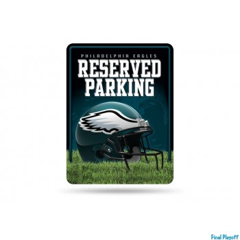 Philadelphia Eagles metal parking sign | Final Playoff