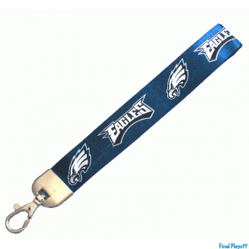 Philadelphia Eagles wristlet lanyard lobster clasp | Final Playoff
