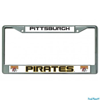 Pittsburgh Pirates license plate frame holder | Final Playoff