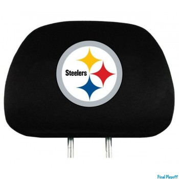 Pittsburgh Steelers headrest covers 2pc | Final Playoff