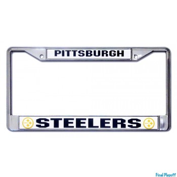 Pittsburgh Steelers license plate frame holder | Final Playoff