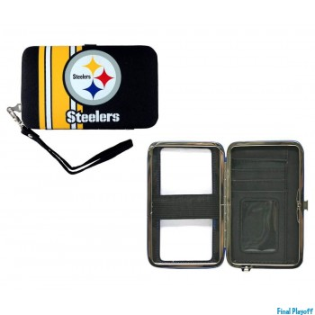 Pittsburgh Steelers phone case wallet | Final Playoff
