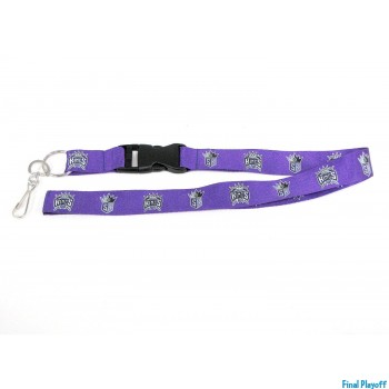 Sacramento Kings lanyard keychain detachable | Final Playoff