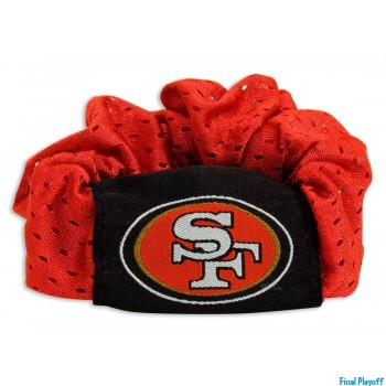San Francisco 49ers hair scrunchie | Final Playoff