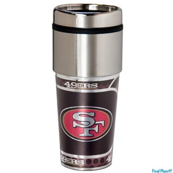 San Francisco 49ers travel mug tumbler | Final Playoff