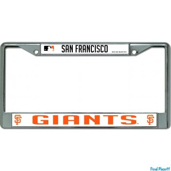 San Francisco Giants license plate frame holder | Final Playoff