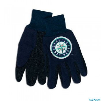 Seattle Mariners two tone utility gloves | Final Playoff
