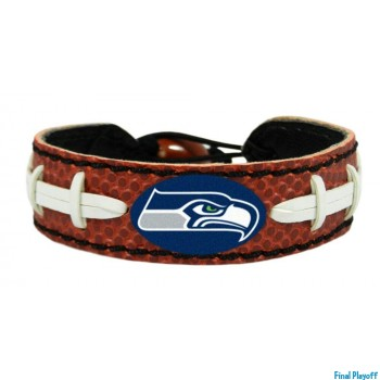Seattle Seahawks leather bracelet | Final Playoff