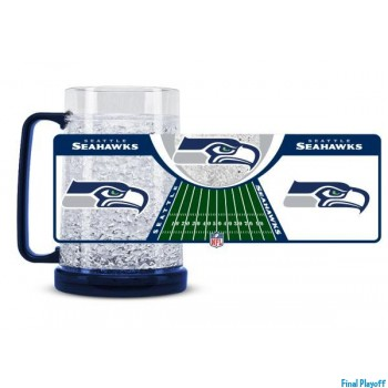 Seattle Seahawks freezer mug | Final Playoff