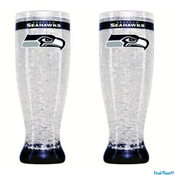 Seattle Seahawks freezer pilsner | Final Playoff