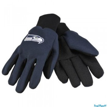 Seattle Seahawks utility gloves | Final Playoff