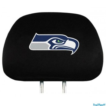 Seattle Seahawks headrest covers 2pc | Final Playoff