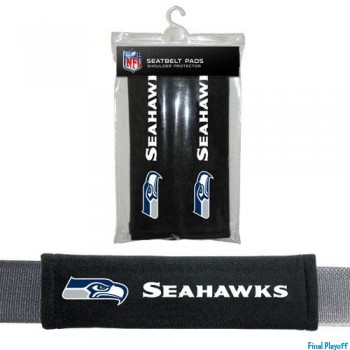 Seattle Seahawks seat belt pads | Final Playoff