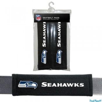 Seattle Seahawks seat belt pads | Final Playoff