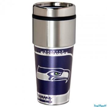 Seattle Seahawks travel mug tumbler | Final Playoff