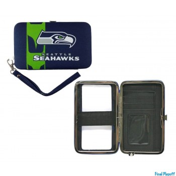 Seattle Seahawks phone case wallet | Final Playoff