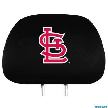 St. Louis Cardinals headrest covers 2pc | Final Playoff
