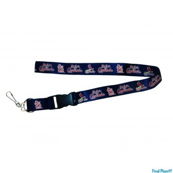 St. Louis Cardinals lanyard keychain detachable | Final Playoff