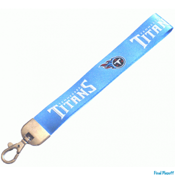 Tennessee Titans wristlet lanyard lobster clasp | Final Playoff