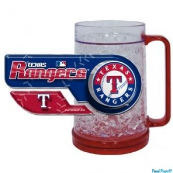 Texas Rangers freezer mug | Final Playoff