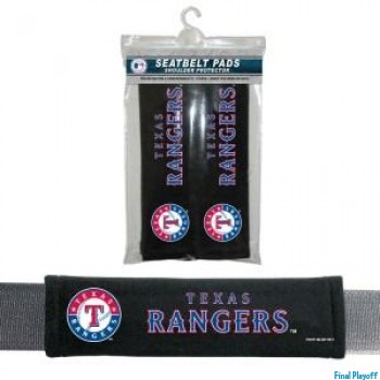 Texas Rangers seat belt pads | Final Playoff