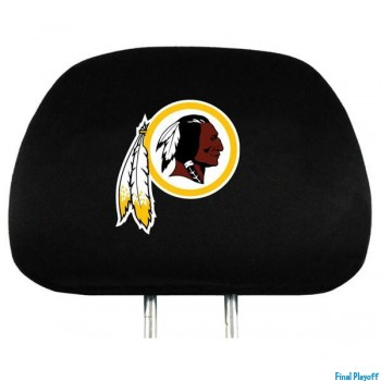 Washington Redskins headrest covers 2pc | Final Playoff