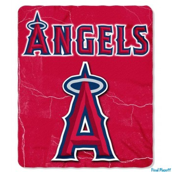 Anaheim Angels fleece throw blanket | Final Playoff