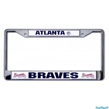 Atlanta Braves license plate frame holder | Final Playoff