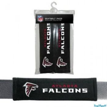 Atlanta Falcons seat belt pads | Final Playoff