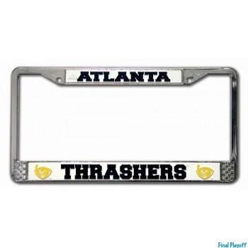 Atlanta Thrashers license plate frame holder   Final Playoff