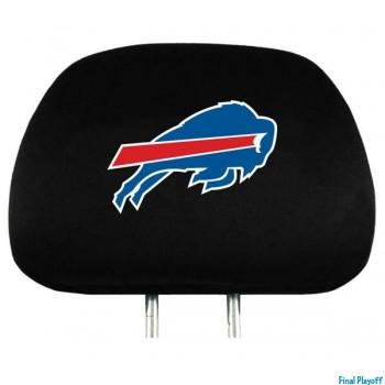 Buffalo Bills headrest covers 2pc | Final Playoff