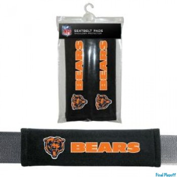 Chicago Bears seat belt pads | Final Playoff
