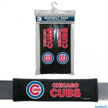 Chicago Cubs seat belt pads | Final Playoff