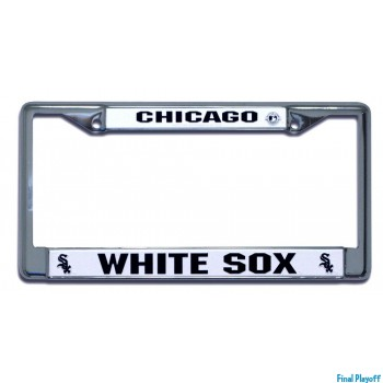 Chicago White Sox license plate frame holder | Final Playoff