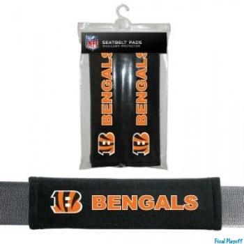 Cincinnati Bengals seat belt pads | Final Playoff