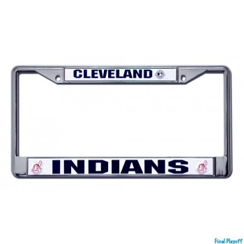 Cleveland Indians license plate frame holder | Final Playoff