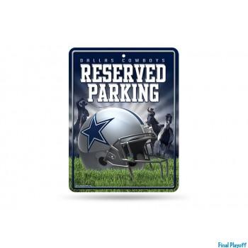Dallas Cowboys metal parking sign | Final Playoff