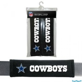Dallas Cowboys seat belt pads | Final Playoff