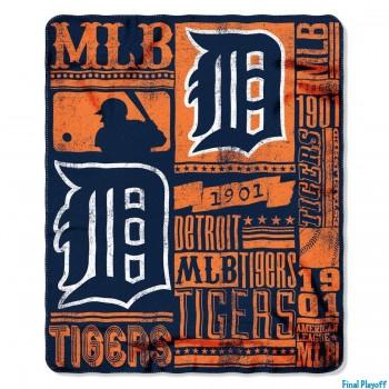 Detroit Tigers fleece throw blanket | Final Playoff