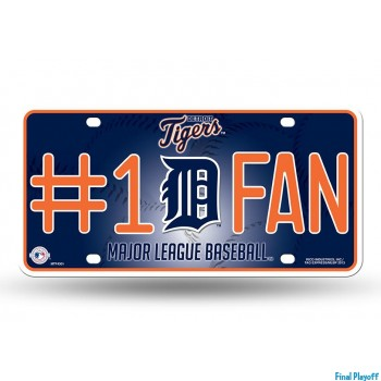 Detroit Tigers metal license plate | Final Playoff