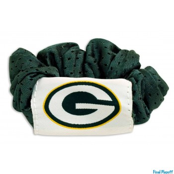 Green Bay Packers hair scrunchie | Final Playoff