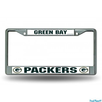 Green Bay Packers license plate frame holder | Final Playoff
