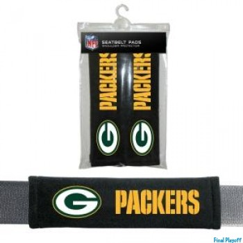 Green Bay Packers seat belt pads | Final Playoff