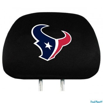 Houston Texans headrest covers 2pc | Final Playoff