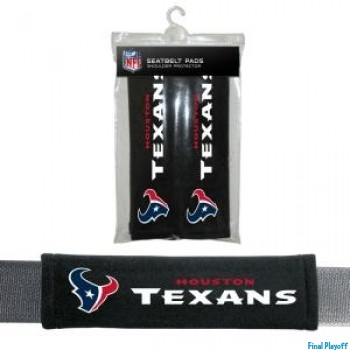 Houston Texans seat belt pads | Final Playoff