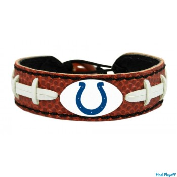 Indianapolis Colts leather bracelet | Final Playoff