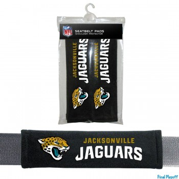 Jacksonville Jaguars seat belt pads | Final Playoff