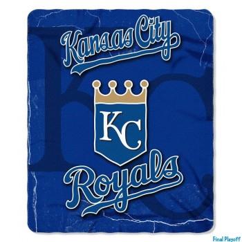 Kansas City Royals fleece throw blanket | Final Playoff
