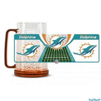 Miami Dolphins freezer mug | Final Playoff